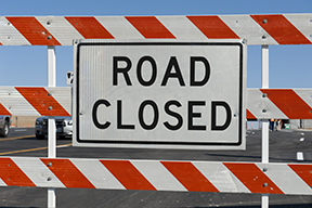 Street Closures - 3/21/17 UPDATE