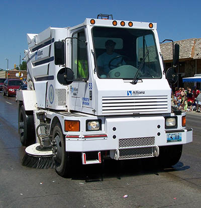 Scheduled Street Sweeping for 5/2 - 5/6