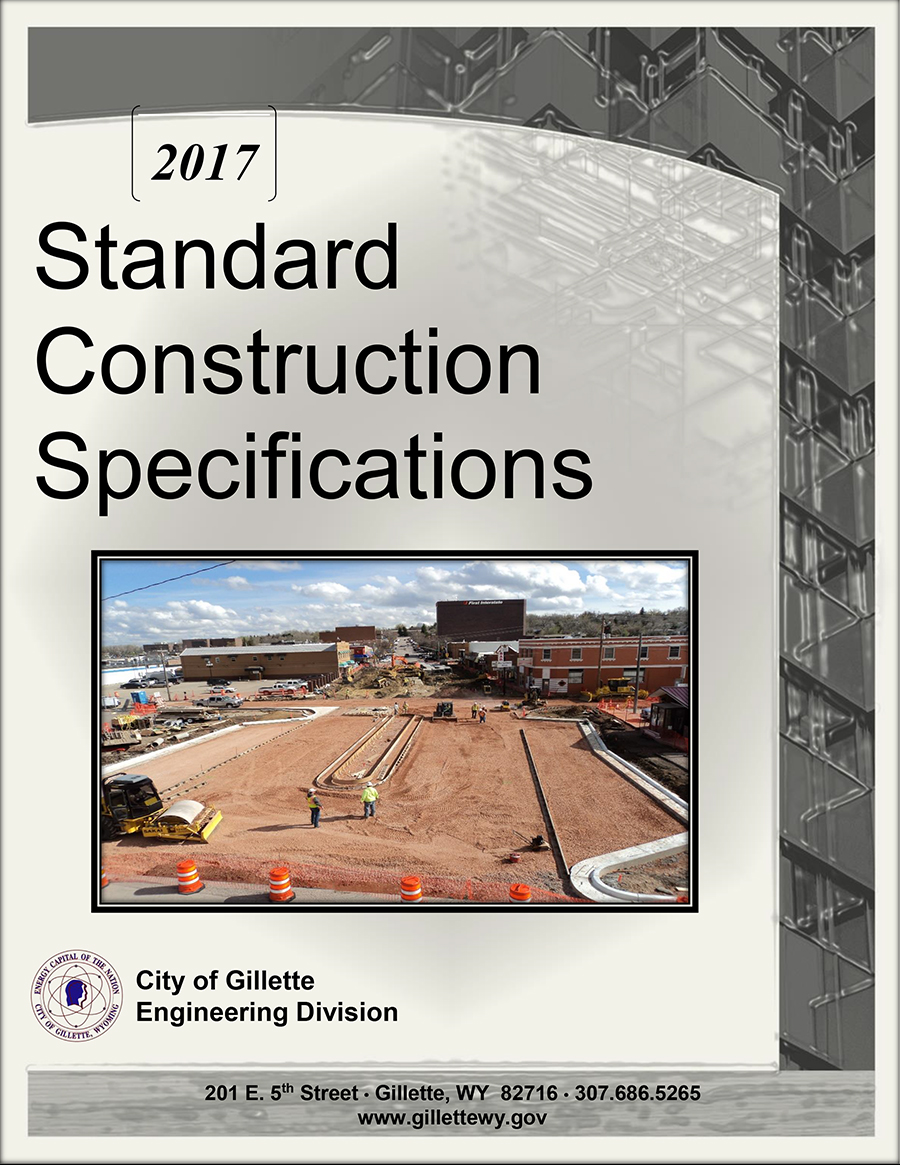 2017 Construction Specs Cover