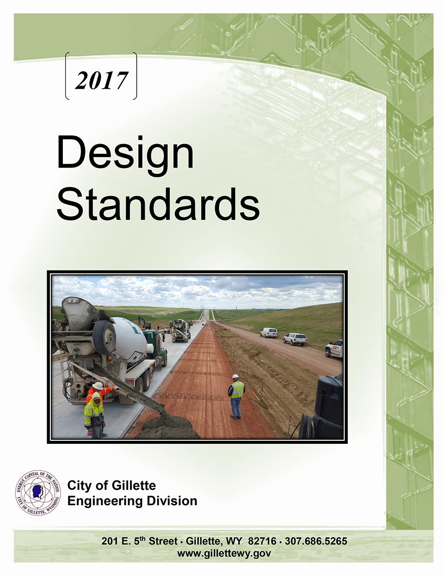 2017 Design Standards Cover