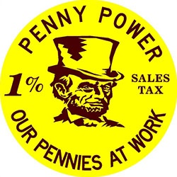 Penny Power Sign