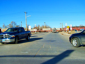 Brooks Avenue Train Crossing