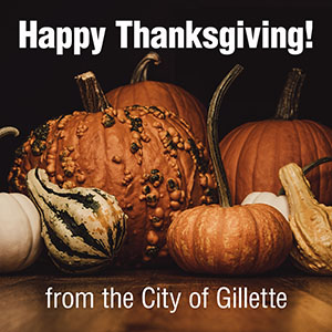 City Offices Closed on November 28th and 29th