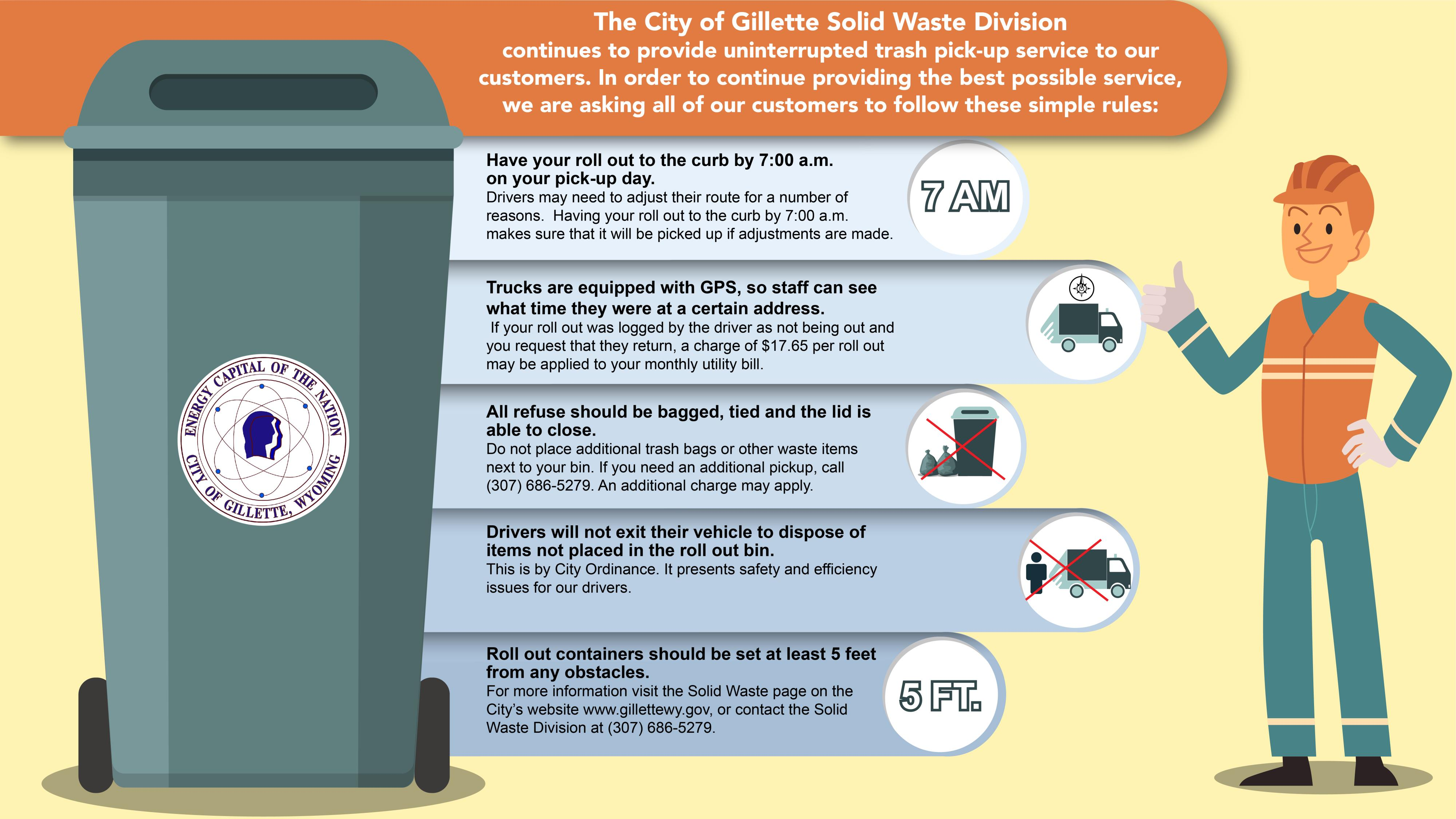 Solid Waste Pick Up Info